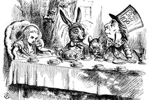 Wonderland Inspiration / The original artwork of Alice in Wonderland