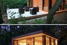 Cabins, pavilions & pods!