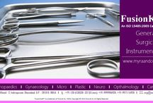 Myra & Co. - FusionKraft™ / Myra & Co. debuts an ISO 13485:2003 Medical Device Quality Management Systems Certified brand #FusionKraft™ , an extensive range of the surgical essentials addressing the operating room instrumentation requirement within multiple domains of General Surgery, Gynaecology, ENT (Oto-Rhino-Laryngology), Orthopaedics, Micro-Surgery, Opthalmology, Neuro, Plastic …. & a lot more.For distribution enquiries, pls mail us your interest at org@myraandcompany.in.