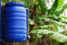 reservatorio de agua da  chuva