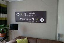 Airpart Woon- en wanddecoratie / Gave woondecoratie in de vorm van dibondborden met daarop door Airpart ontworpen airport- en subwayart