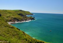 CRACKINGTON HAVEN & MILLOOK, NORTH CORNWALL / Including Bridwill Point, Cambeak, High Cliff, Foxhole Strand, Castle Point.  About 20 miles (40 mins drive) from us.