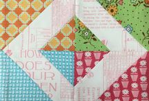 Bee in my Bonnet / Quilt blocks and tutorials from Lori Holt.