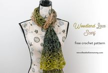 Crochet Scarf, Infinity, Cowl Patterns / Free Crochet Patterns Crochet Scarf Patterns from Designers all over!