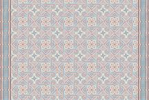 Cement tile simulations