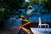 - Garden design : lighting -