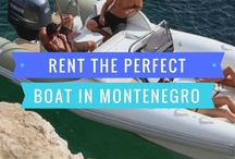 Boating in Montenegro / Rent a boat in Montenegro or take a boat tour. The stunning Adriatic coast is beckoning you!