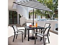 """OUTDOOR   Dining With Style / Shag style rugs have a pile that is so long it doesn't stand upright, giving a carpet that distinctive """"shaggy"""" look. The style was popular during the 1960s and 1970s, and is currently enjoying a massive resurgence in popularity in the home décor market."""