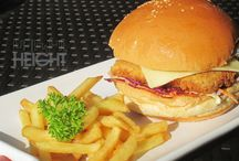 Food / Find us at Height Bar & Restaurant :)
