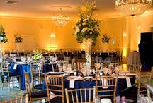 Uplighting!! / Lighting up our Ballrooms with the added Uplighting! All sorts of colors and designs can be done