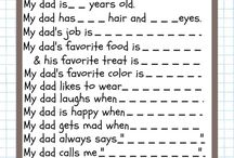 DIY Gifts for Father's Day / Gift that you can make yourself for Father's Day. Also gifts that can be made with kids to give to their daddy <3.