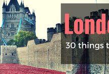 London Bucket-list