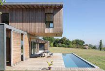 Maisons en bois / Inspirez-vous de ces magnifiques maisons en bois pour créer un petit nid douillet qui vous ressemble !