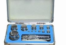 Stainless Steel Calibration Weights Kit Set