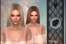   THE SIMS 4 CC - HAIR  