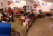 Organizing Before and After  / We love organizing for our clients!