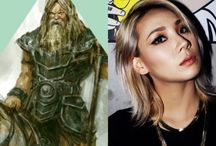 NorseCabins&KPOP / The Norse version of my PJCabins&KPOP edits :):):)