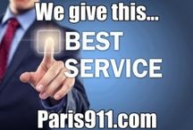 Paris911 Team Testimonials