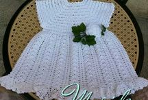 crochet abiti bimbi