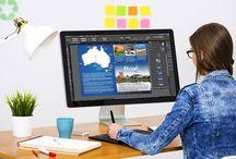 Kurs i InDesign / Vad du kan lära dig att skapa med en kurs i InDesign. Trycksaksproduktion med InDesign.