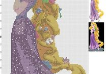 Ponto Cruz: princesas