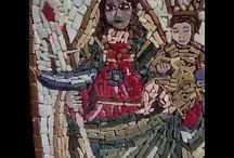 hobby mosaico / realizzazione di mosaici hand made in marmo e pietre naturali