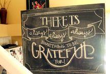Chalkboard  / by Vicki Westfall