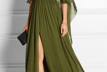 fashion - flowy long dress