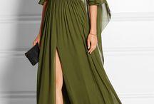 fashion - flowy long dress