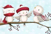 Christmas animals cute
