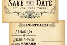 Invites, Thank You's, Gifts and Wrapping / by Brittany Strycharz