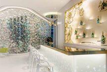 Perrier-Jouet Lounge at paradise Casino / Interior Design