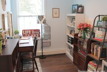 Carson Forge Writing Desk / Helping you be awesome everyday.  / by Sauder Furniture