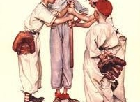 Norman Rockwell and like artist... / at a very early age I fell in love with Norman Rockwell and I still love his work to this day.
