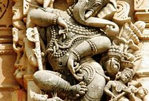 Ganesha, temple sculptures