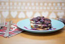 Food | Breakfast Ideas / Healthier breakfast inspiration, ideas and recipes