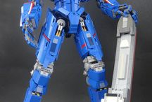 lego robots&worriors