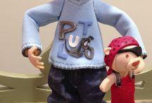 """Regalos originales """"fofuchas"""" / Muñecas personalizadas por encargo Personalized Custom Dolls"""