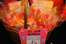 gift basket ideas / by Debbie Castonguay