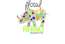 Floral Rhino ~ Goods for Her