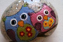 malované kameny :-)