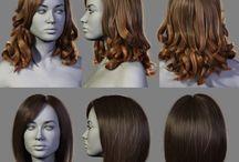 3D Hair, Fur