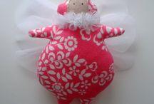 Bumble-bee / Handmade cute decoration - handmade by Kicia