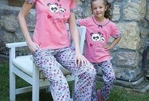 Anne Kız Pijama Takımları / 0