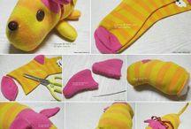 sokken knuffels