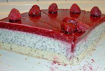 Himbeer Mohn torte