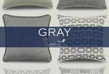 Gray Accent Home Decor