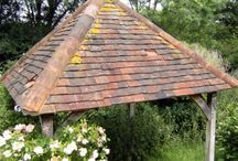 Reclaimed Roof Tiles / Some of the roof tiles reclaimed from our yard