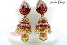 Earrings / Beautiful earrings by femiza