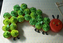 the very hungry caterpillar  / grant's first birthday party! / by Vernice Hammett